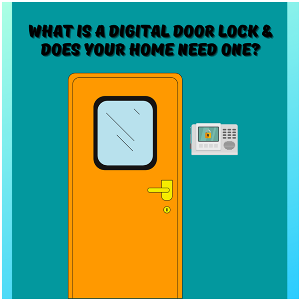 Digital Door Lock – A Smart & Effective Security Device For Every Home
